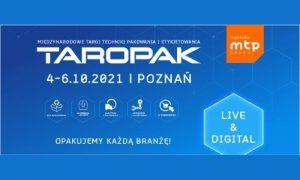 targi taropak 2021 - SPPES branżowym partnerem
